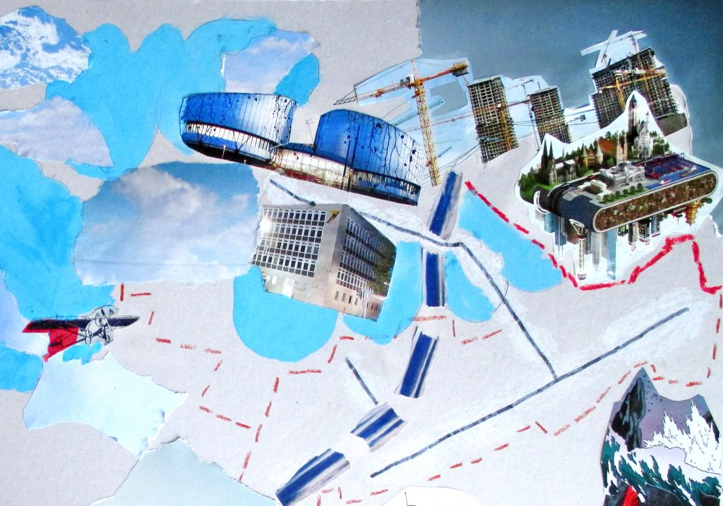 Collage einer Teilnehmerin